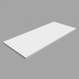 Laminierte Regale, Regalboden, Regal, wandregal - LSS Weiss 800x350