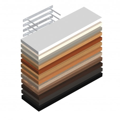 Regalsysteme Wandregal Regale selbsthängend FS 235x235 Regalboden Regalbrett