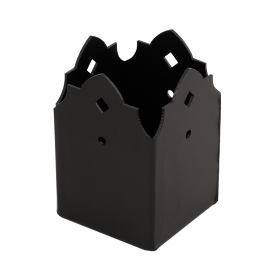 Stützenfuß Pfostenträger Pfostenanker Dekorativ Verbinder mit CE - SDSP