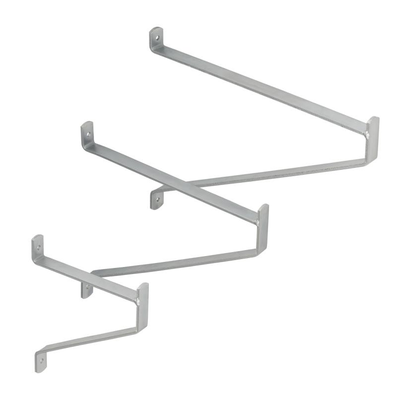 Hemoton 2 St/ück Garagenhaken Hochleistungs-Metallgaragen-Aufbewahrungswandaufh/änger f/ür Fahrradleitern Elektrowerkzeuge