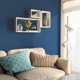 Wand-Regal-Set, Modulfächer, Regalsysteme, Hängeregale - FRS 600/380/170