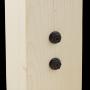 Dekorativ Schraube Holzverbinder Lochwinkel Winkel mit CE - SDCS