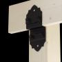 Dekorativ Verbinder Holzverbinder Lochwinkel Winkel mit CE - Z-Typ - SDLZ