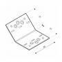 Dekorativ Verbinder Winkelverbinder 135° abgewinkelt SDKLR mit CE