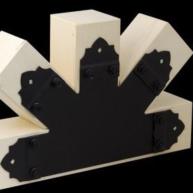Dekorativ Flachverbinder Holzverbinder Lochwinkel Winkel mit CE - SDLPC