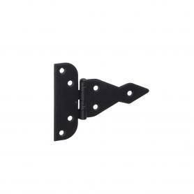 Dekorativ Kreuzgehänge Scharniere Ladenband Bänder -Schwarz ZAT