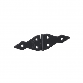 Dekorativ Kreuzgehänge Scharniere Ladenband Bänder - Schwarz ZATS