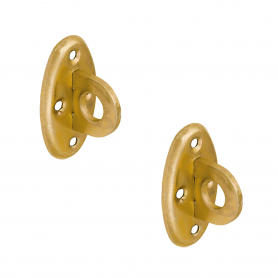 Bolzen Bolzenriegel Halter - Zink galvanisiert gelb - SP