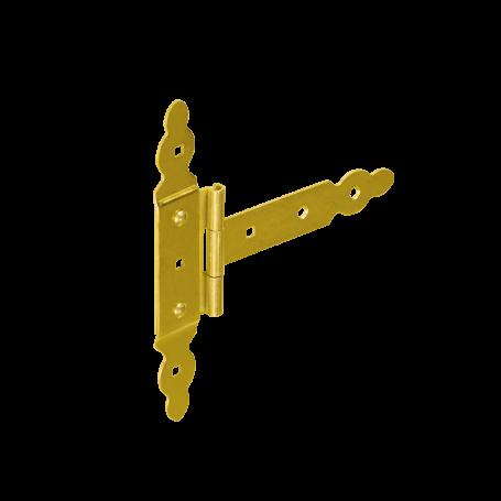 Dekorativ Kreuzgehänge T-Scharnier Holzverbindung Torband - ZBNO