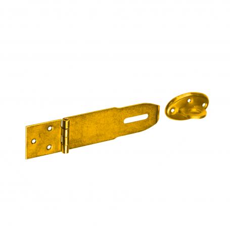 Riegel Bolzenriegel Schlossriegel Schubriegel Zink galvanisiert gelb W