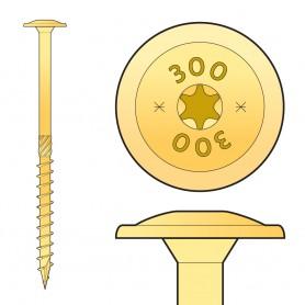 CT - Holzbauschraube mit Tellerkopf 6mm (Päckchen)