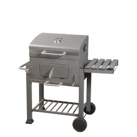 Gartengrill Deluxe mit Thermometer - James - 60x30x107
