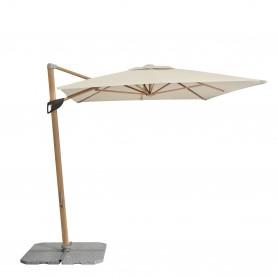 Sonnenschirme Pendelschirm - Alu Wood - 300x220 cm