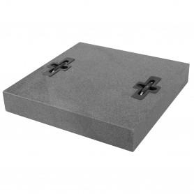 Beschwer-Granitplatte - Design - 55 kg