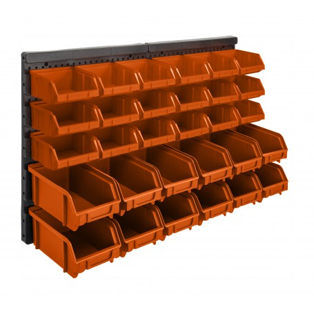 Stapelboxen Werkzeugwand Lagersystem Box 30 tlg. SET - PGP 1