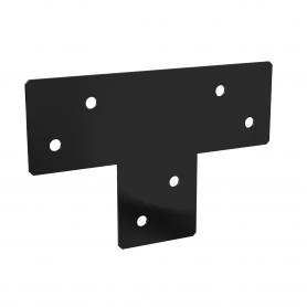 Pergola Dreiwegverbindung - schwarz - GPLP