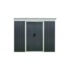 Gerätehaus Geräteschuppen Gartenhaus aus Metall - Alnus - 110x217x184