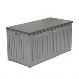 Gartenbox Kissenbox Auflagenbox - Cygnus 270 Liter, hellgrau