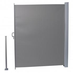 Terasse Markise Windschutz Trennwand 160x300 Grau - Mistral
