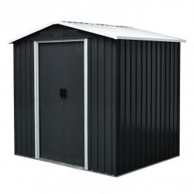 Gerätehaus Geräteschuppen Gartenhaus aus Metall - Fiori III 174x236x190