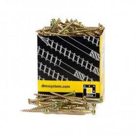 Holzbauschrauben mit Senkkopf CS - 4mm TORX - Zink galvanisiert