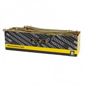 Holzbauschrauben mit Senkkopf CS - 10mm TORX - Zink galvanisiert