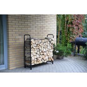 Kaminholzständer Brennholzregal 120x35,6x120 - Silvam I