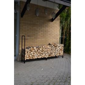 Kaminholzständer Brennholzregal 240x35,6x120 - Silvam II