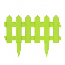 Rasenkante Gartenpalisade, grün 160x29,5 Satz mit 4 Stück - GOP 5